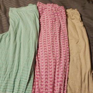 3 Pair of Victoria Secret Sleep Pants.
